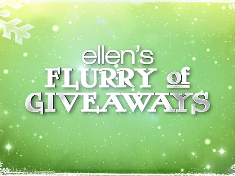 12 days giveaways ellen prizes to win