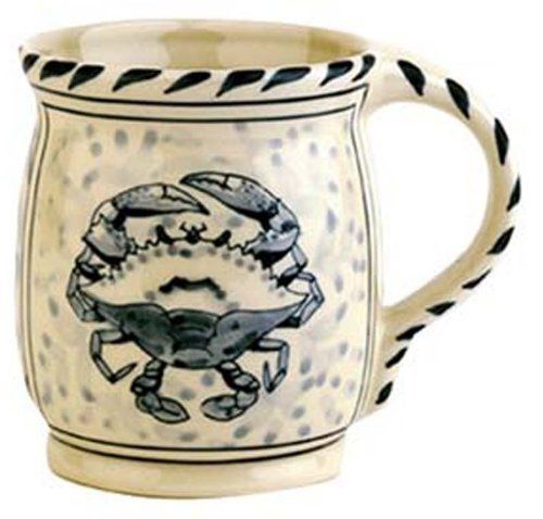 Blue Crab Bay - Set of 4 - 16 oz Stoneware Mugs Designed By Artisan José Dovis by Blue Crab Bay. $51.99. Microwave- and dishwasher-safe .. Designed by an Eastern Shore artisan José Dovis. Lead-free and oven-safe to 400°F. Set of 4 - 16 oz mugs. Blue Crab Stoneware by Dovis Designs is produced and hand-painted in Thailand exclusively for Blue Crab Bay Co. The stoneware is lead-free as well as microwave- and dishwasher-safe. It is also oven-safe to 400°F.