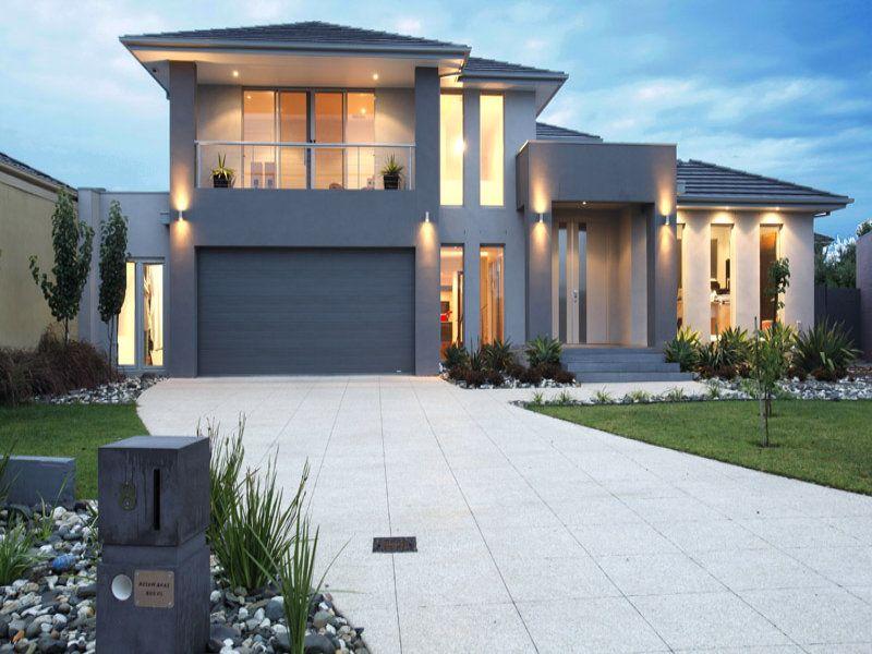 Contemporary Homes Exterior modern house exterior garage door Luxury Contemporary House Exterior