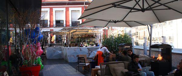 Madrid Al Sol Terraza Del Mercado De San Antón En Chueca