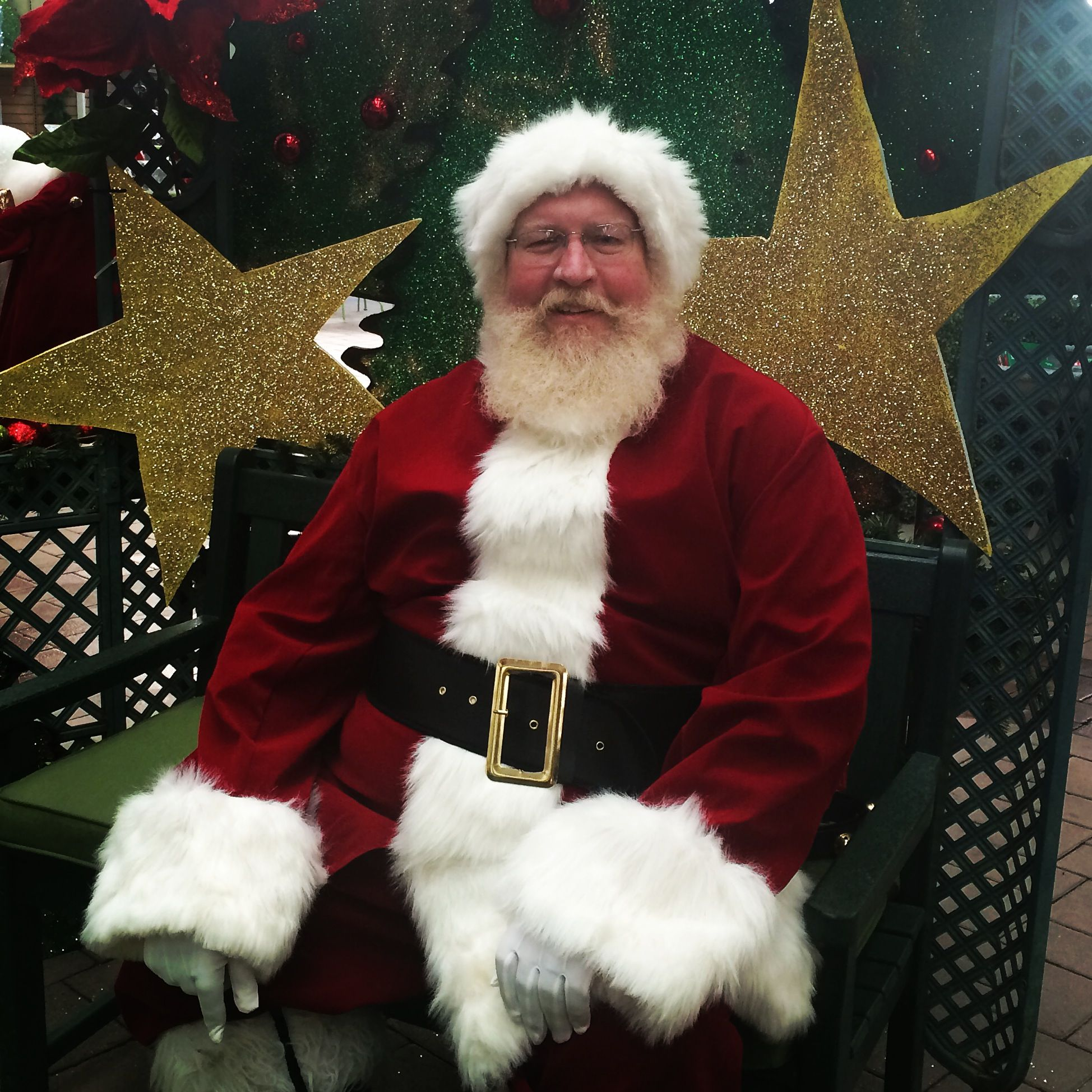 Santa At Hicks Nurseries