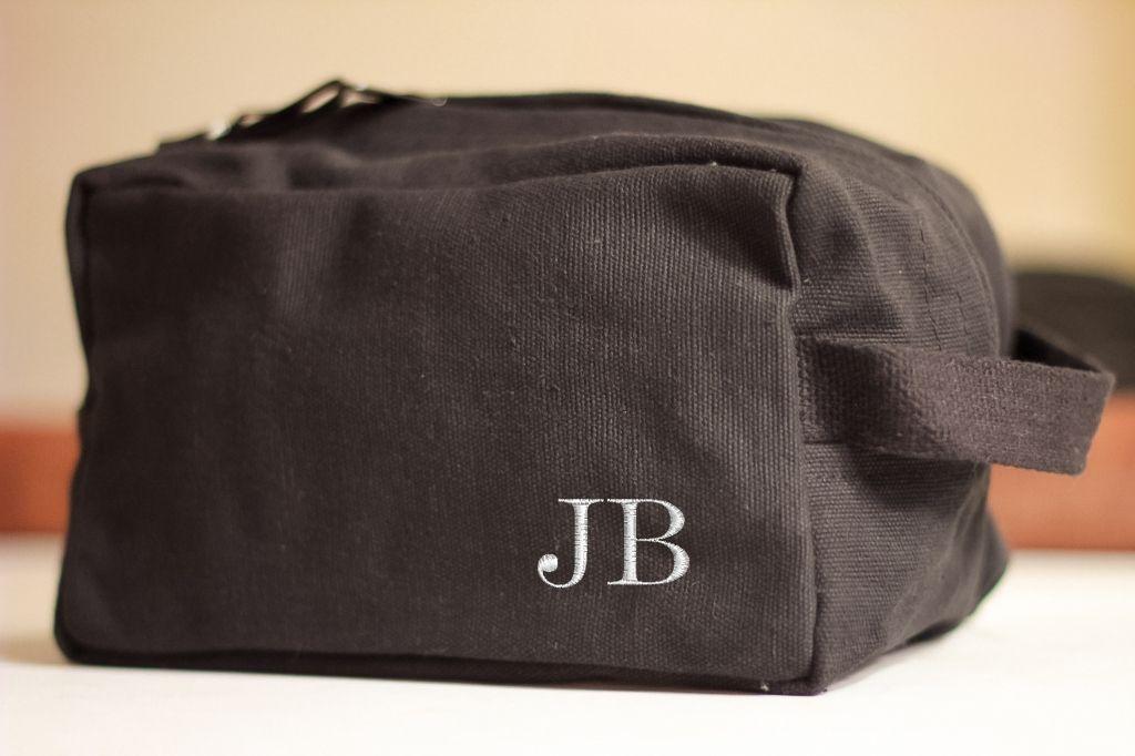 3c88589d0cb1 Groomsmen Shave Bag Kit Personalized Custom Dopp Kit Vintage Military  Toiletry Travel Bag