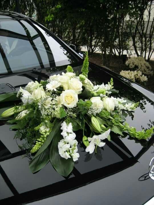 Gesteck Autogestecke Hochzeit Auto Autoschmuck Hochzeit Und Braut