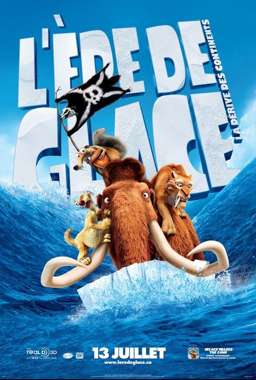 Age De Glace 4 Streaming : glace, streaming, L'ère, Glace, Dérive, Continents, Continental, Drift,