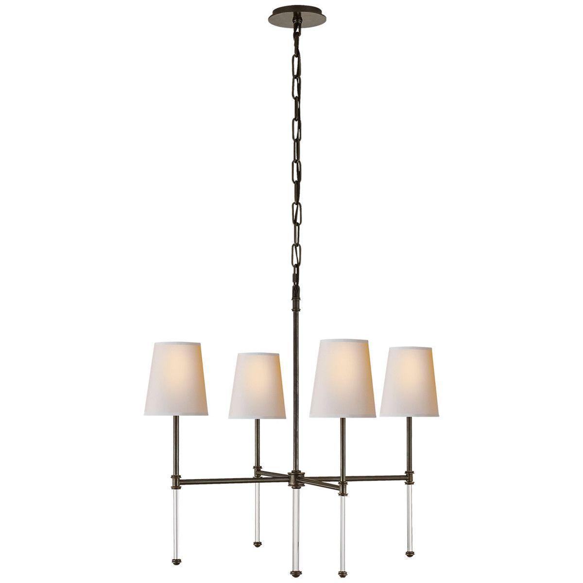Visual comfort suzanne kasler camille 4 light 27 inch chandelier visual comfort suzanne kasler camille 4 light 27 inch chandelier arubaitofo Image collections