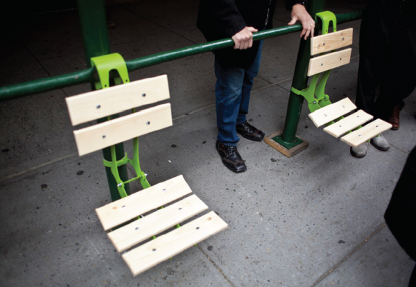 Architizer Blog » Softwalks Turns NYC Scaffolding Into Pop-up Hangouts