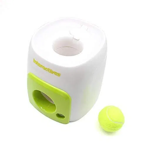 Vpabes Automatic Dog Ball Launcher Throwing Machine Fetching Balls With Images Dog Ball Launcher Dog Ball Ball Launcher