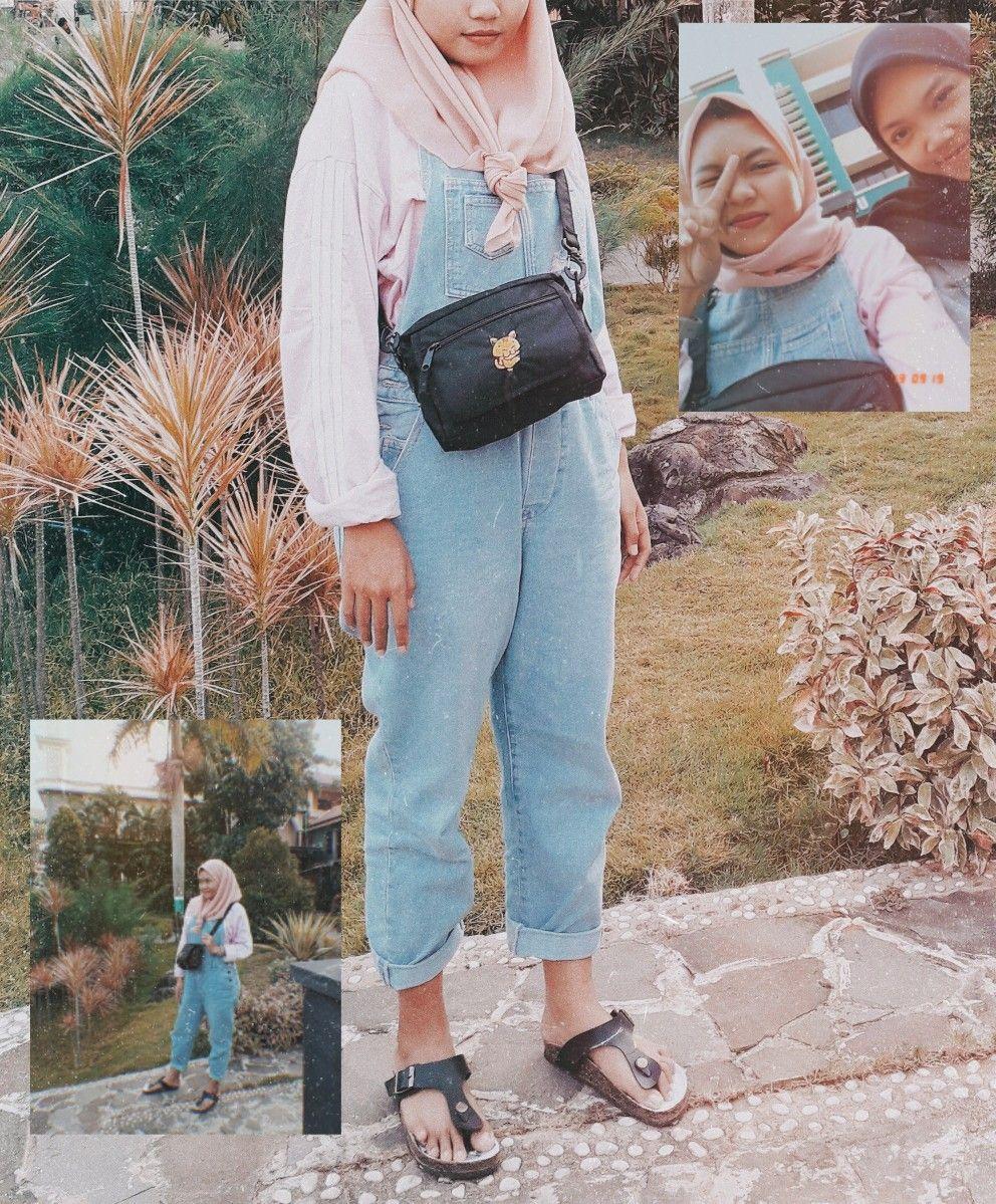 Ootd Baju Kodok Hijab