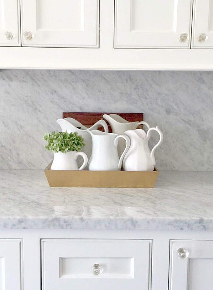 Historic House Tour Marble Countertops Kitchen Marble
