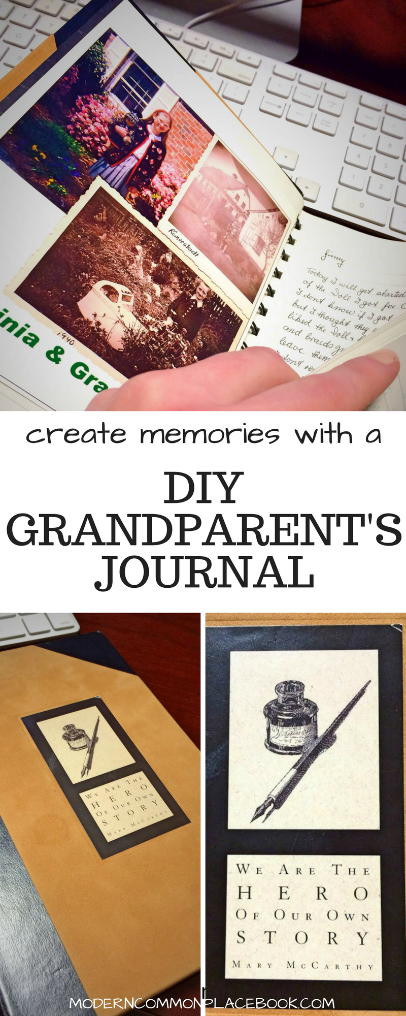 create memories with a diy grandparents journal gift ideas grandparent gift ideas grandmother gift ideas grandfather gifts christmas gift ideas for - Christmas Gift Ideas For Grandparents