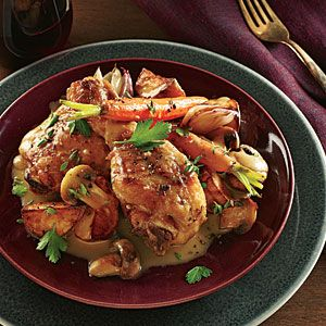 Beautiful Champagne Browned Butter Chicken. Cooking Light ...