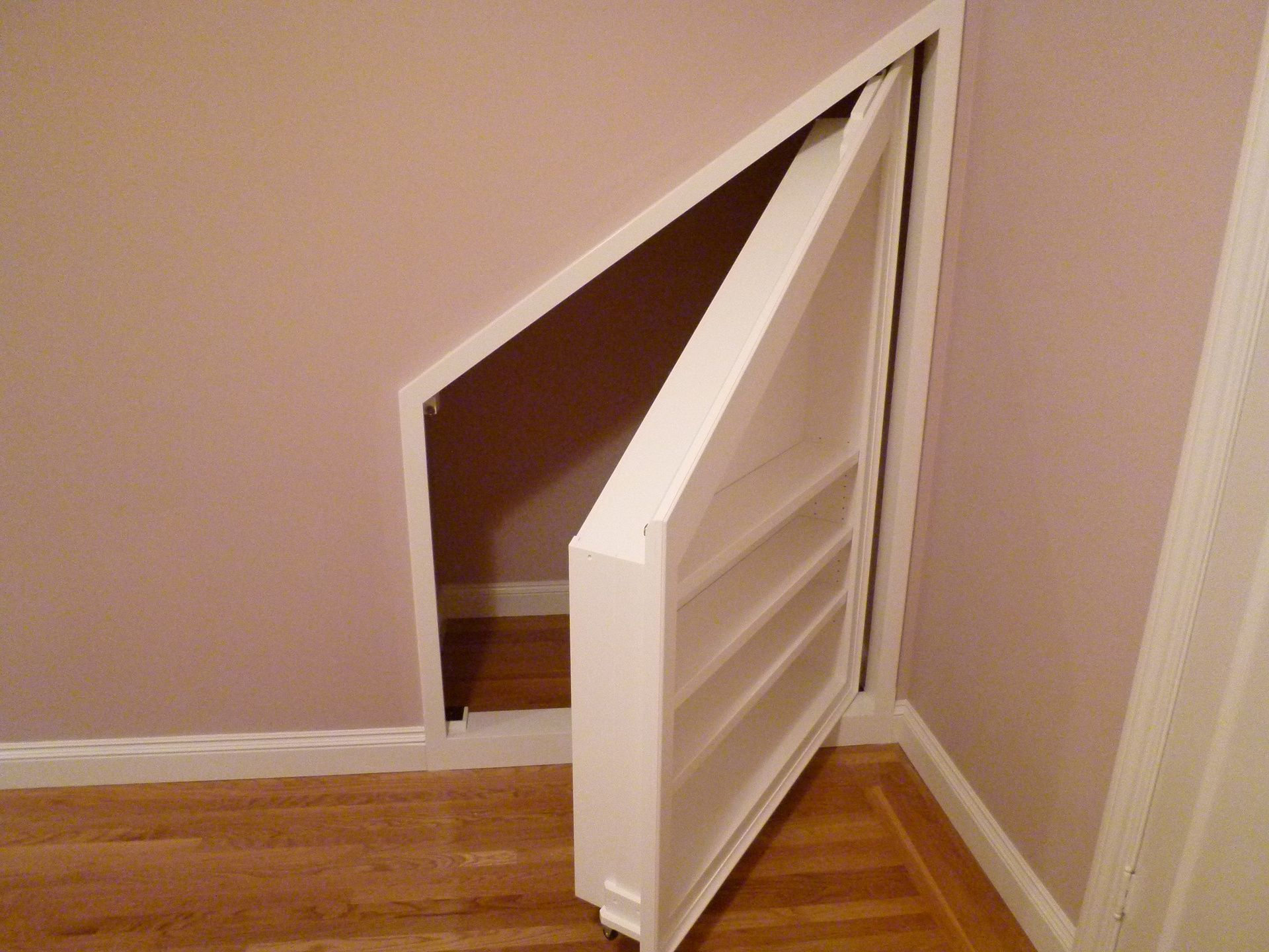 Under Stair Storage Secret Compartment For My Future