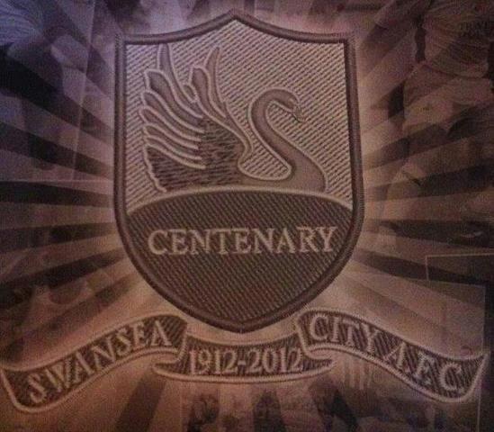 BREAKING NEWS: The new Swansea City Centenary Logo for 2012/13 Season