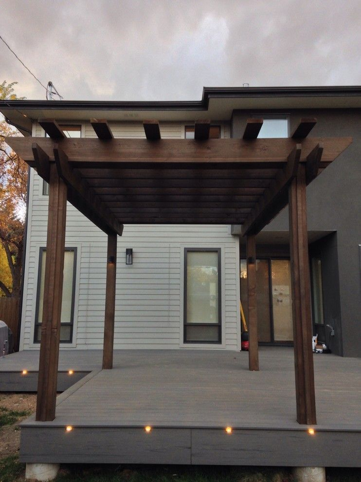 Image By Natural Woodworkers Llc Modern Pergola Designs Modern