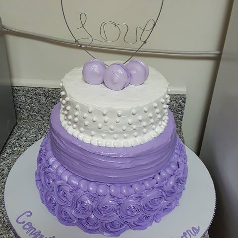 Image Result For Dominican Purple Cake Baby Shower Pinterest