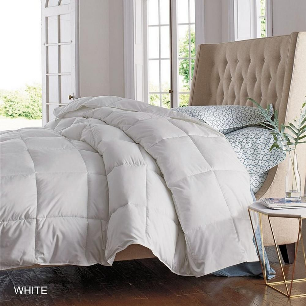 Tagco Usa Luxury Home Overfilled Down Alternative Comforter White