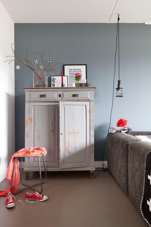 muurkleur steel van painting the past - mooi voor de slaapkamer ...