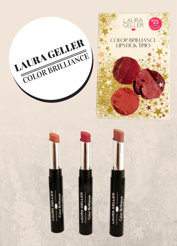 LUSTRE & BRILLIANCE COLOR BRILLIANCE LIPSTICK TRIO BY LAURA GELLER