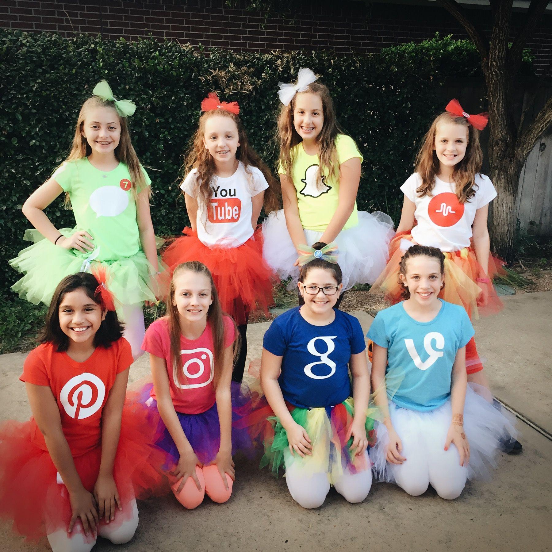 Quatang Gallery- Social Media Halloween Costumes Cute Group Halloween Costumes Halloween Outfits Tween Halloween Costumes