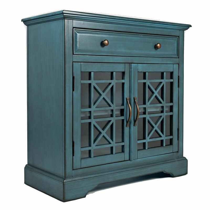 Hedley 2 Door Accent Cabinet In 2020 Accent Doors Accent Cabinet Blue Accent Chest