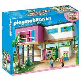 Maison moderne Playmobil City Life - 5574   Playmobil   Pinterest ...
