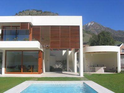 Fachadas de casas modernas fotos de frentes de casas for Casas minimalistas 180m2