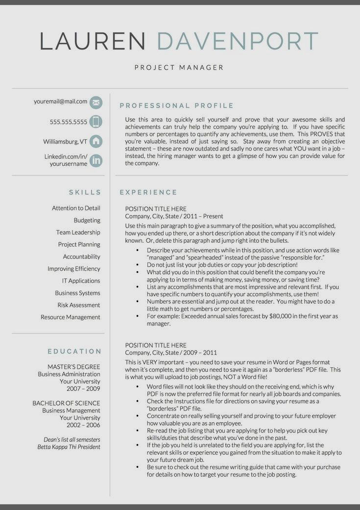 26+ Simple Resume design Skills Diy in 2020 Good resume