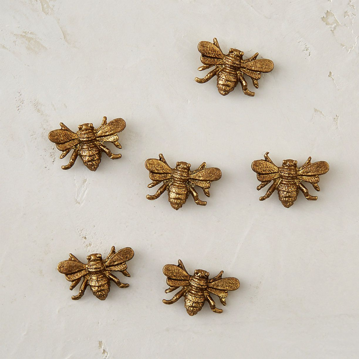Pewter bee magnets pewter magnets and bees