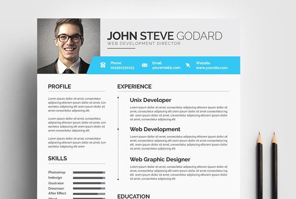 Resume Word  Resumes  Resume Template    Resume