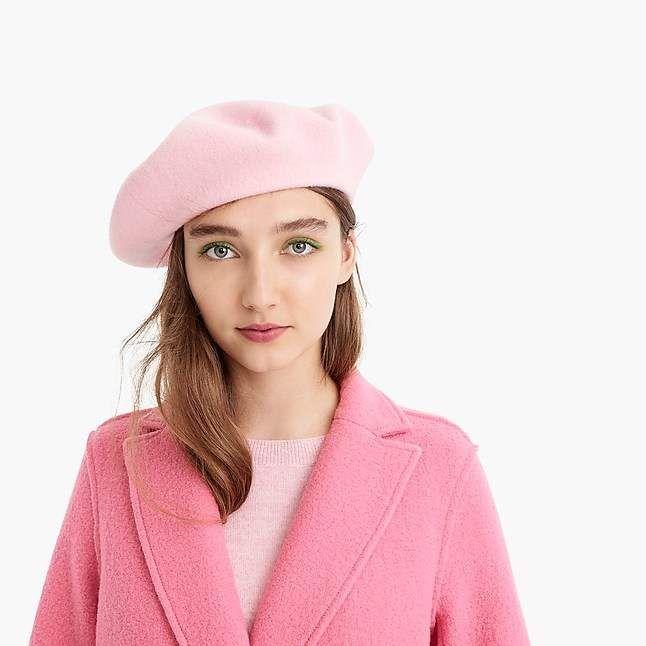 d1670af9781d8 J.Crew Italian wool beret