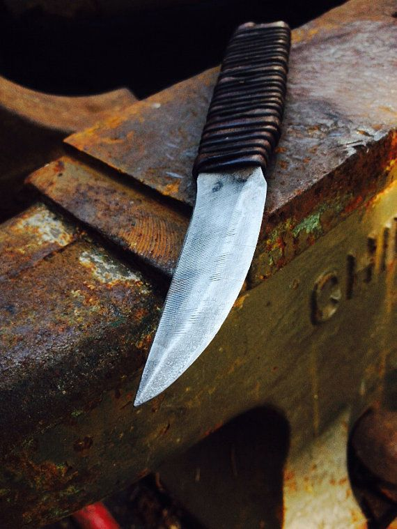 File Knife By Blacksmithandartist On Etsy 40 00 Knife Hand Forged Knife Knife Handle Making