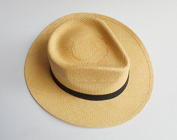 cf0b5c49e Mens Straw Hat, Straw Hat, Men Hat, Summer Fashion Hat, Sun Hat ...