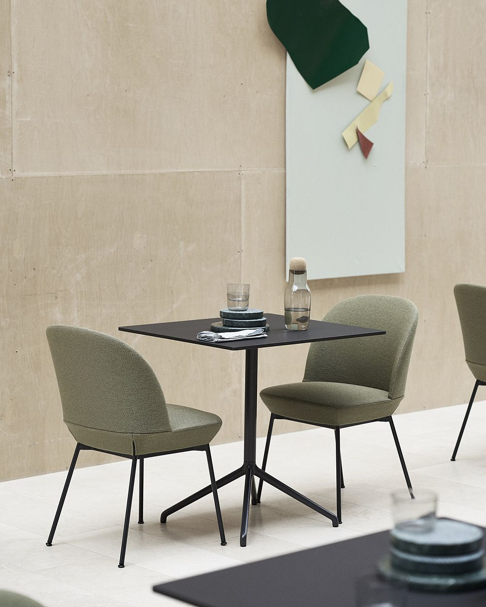 Comfortable And Contemporary Upholstered Dining Chair Home Decor Inspiration From Muuto Combinin Side Chairs Dining Room Decor Modern Scandinavian Sofa Design