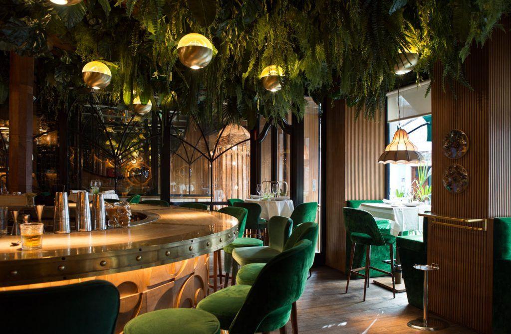 amazonico ristorante amazonico bar madrid spagna interni interior blog decorazione