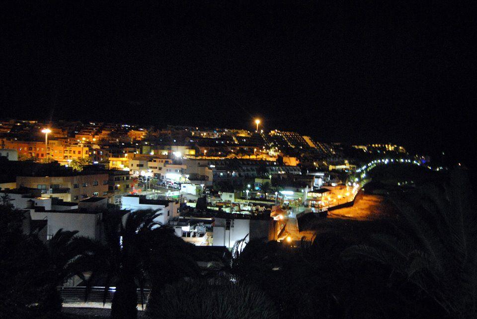 De paseo nocturno por Morro Jable  Fotos de Annika Terwonne Geboren Battefeld