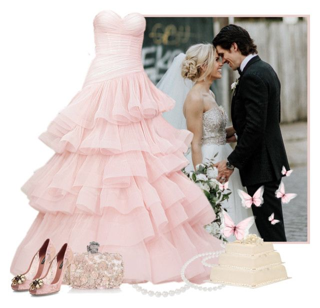 Wedding by fashionrushs on Polyvore featuring polyvore fashion style Dolce&Gabbana Alexander McQueen Nadri clothing
