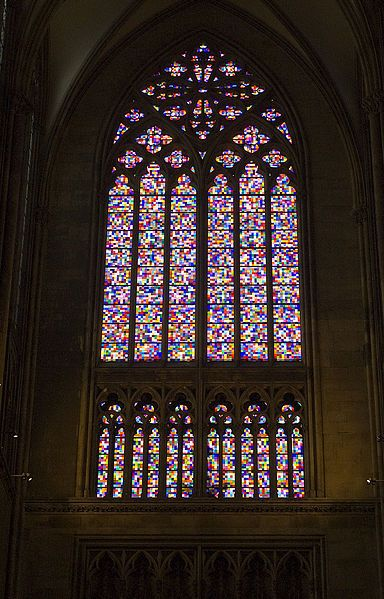 Full Size Picture Richter Window Cologne Cathedral Jpg Gerhard Richter Stained Glass Stained Glass Windows
