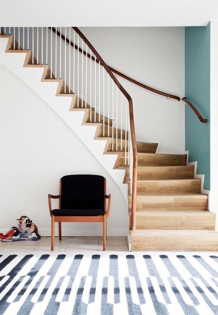 Idee Renovation Escalier Bois ▷ 1001 + idées pour réaliser une déco montée d'escalier originale