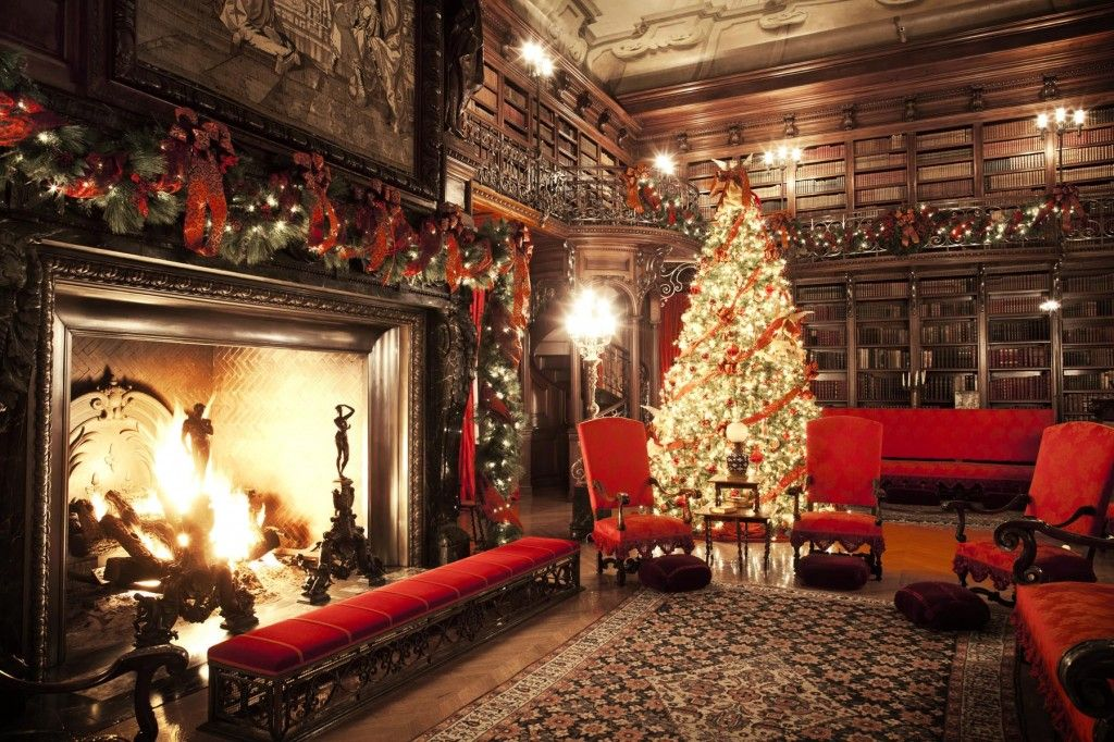 biltmore library at christmas i 39 ve always wanted to go to. Black Bedroom Furniture Sets. Home Design Ideas