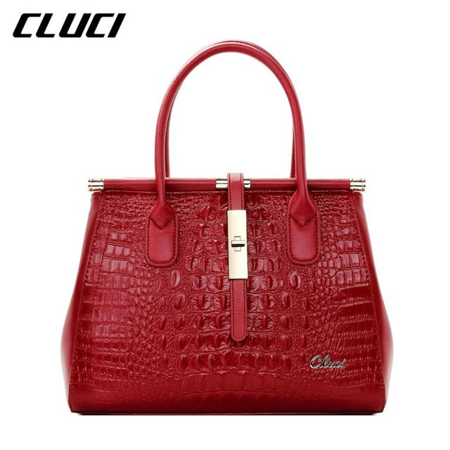 601adc4cc2 CLUCI Luxury Women Designer Handbags High Quality Brand Women Crossbody  Leather…