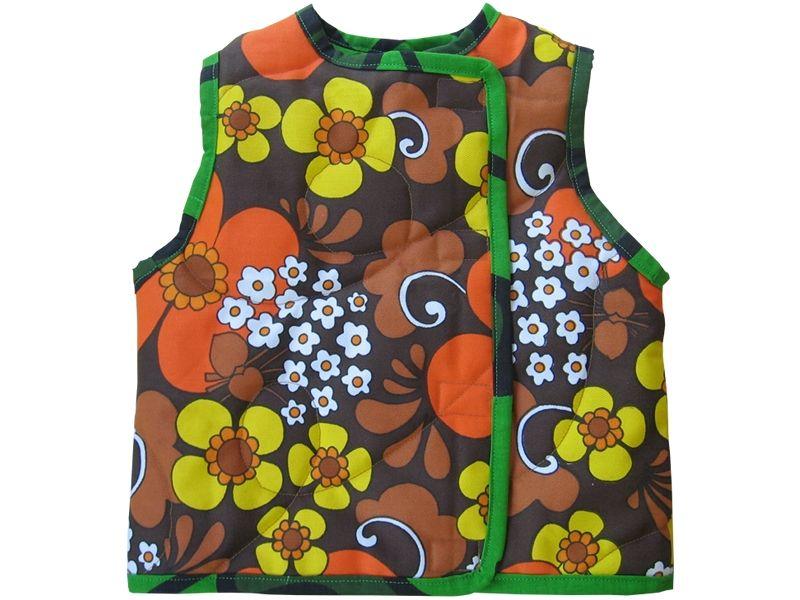 de droomfabriek: Gratis patroon bodywarmer maat 92 | Baby Sewing ...