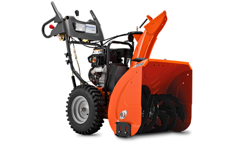 Husqvarna two stage snow throwers are innovative, powerful