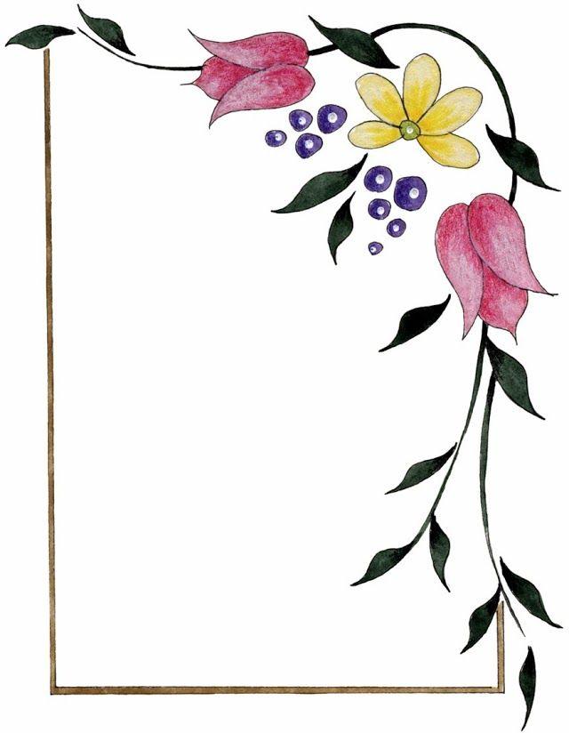 Шаблоны уголков для открытки