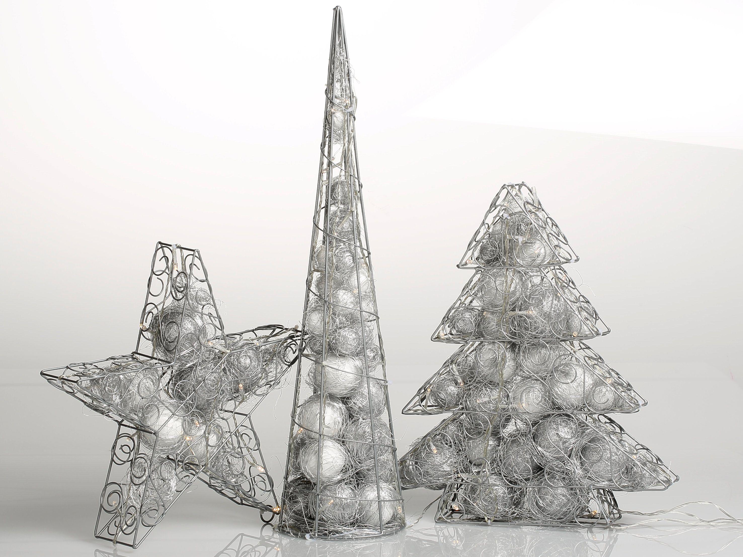 Weihnachtsbeleuchtung Fenster Pyramide.Stern Pyramide Tanne Zur Weihnachtsdeko Fensterdeko Aus Draht