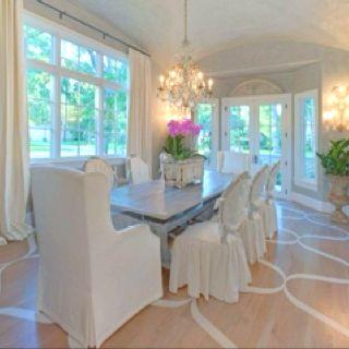 My ultimate dining room decor...love love love!!!