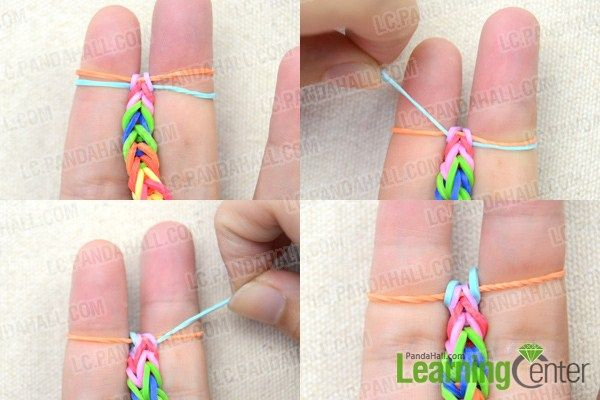 How To Make A Fishtail Loom Bracelet Step By Step Diy