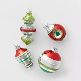 50ct Christmas Ornament Set 70mm Wine And Champagne Wondershop