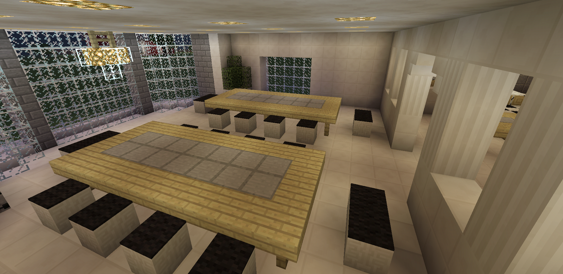 Minecraft Castle Dining Table - Dining room ideas