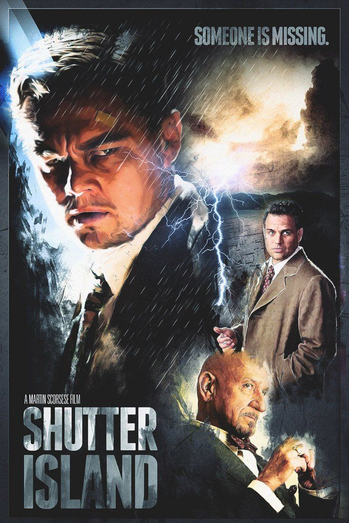 Shutter Island 2010 Movie Poster Cinema In 2019 Island