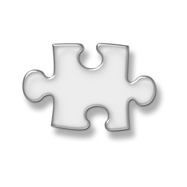 Horizontal Puzzle Piece Icon #016933 liked on Polyvore ...